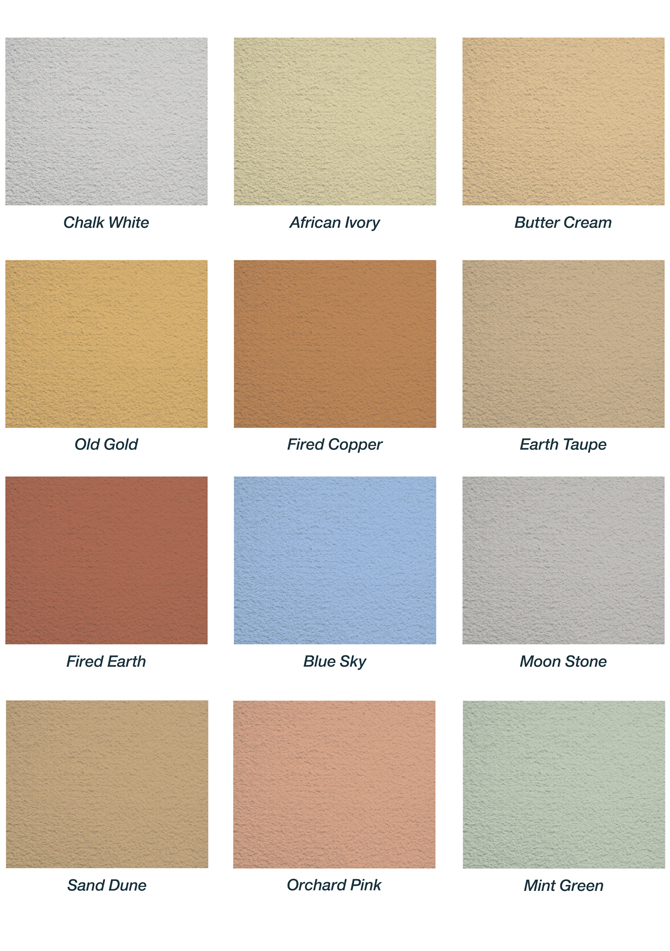 Homeshield - Wall Colour Chart