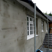 Homeshield - Exterior Wall Insulation During